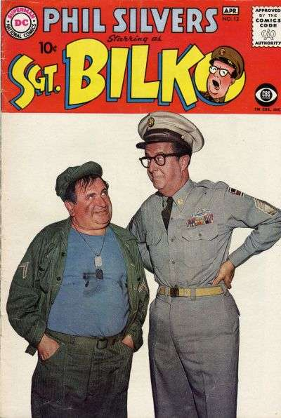 Sergeant Bilko #12 Comic Books - Covers, Scans, Photos  in Sergeant Bilko Comic Books - Covers, Scans, Gallery