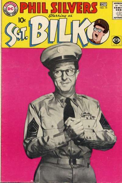 Sergeant Bilko #15 Comic Books - Covers, Scans, Photos  in Sergeant Bilko Comic Books - Covers, Scans, Gallery