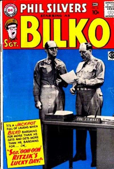 Sergeant Bilko #16 Comic Books - Covers, Scans, Photos  in Sergeant Bilko Comic Books - Covers, Scans, Gallery