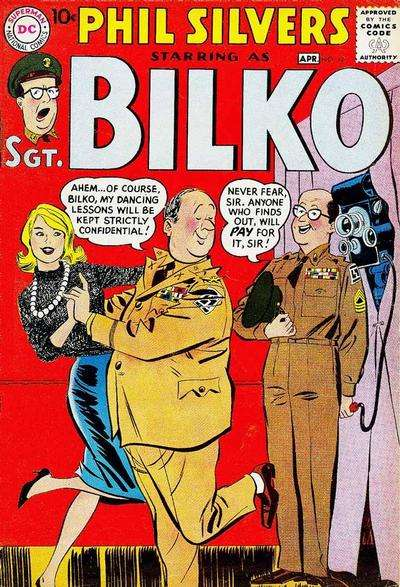 Sergeant Bilko #18 Comic Books - Covers, Scans, Photos  in Sergeant Bilko Comic Books - Covers, Scans, Gallery