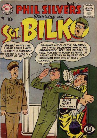 Sergeant Bilko #2 Comic Books - Covers, Scans, Photos  in Sergeant Bilko Comic Books - Covers, Scans, Gallery
