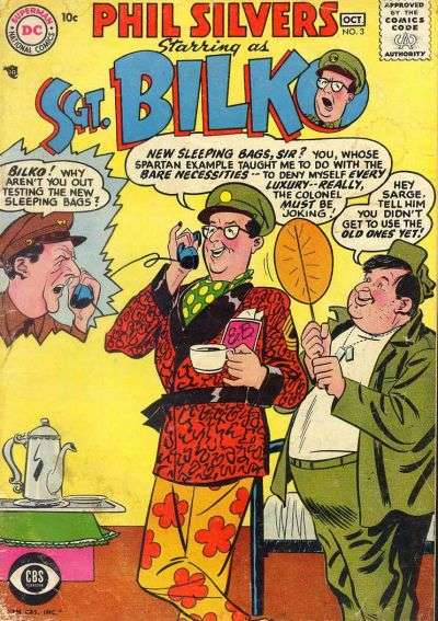 Sergeant Bilko #3 Comic Books - Covers, Scans, Photos  in Sergeant Bilko Comic Books - Covers, Scans, Gallery