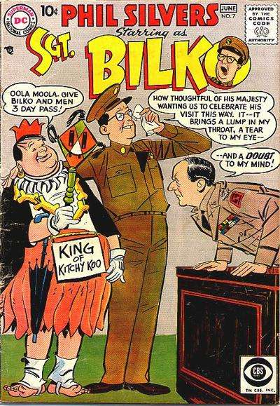 Sergeant Bilko #7 Comic Books - Covers, Scans, Photos  in Sergeant Bilko Comic Books - Covers, Scans, Gallery