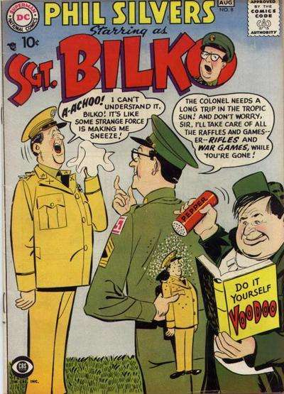 Sergeant Bilko #8 Comic Books - Covers, Scans, Photos  in Sergeant Bilko Comic Books - Covers, Scans, Gallery