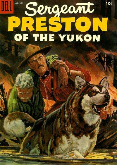 Sergeant Preston of the Yukon #16 Comic Books - Covers, Scans, Photos  in Sergeant Preston of the Yukon Comic Books - Covers, Scans, Gallery