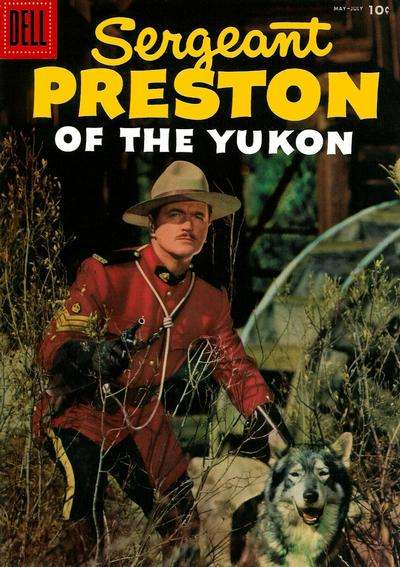 Sergeant Preston of the Yukon #19 Comic Books - Covers, Scans, Photos  in Sergeant Preston of the Yukon Comic Books - Covers, Scans, Gallery