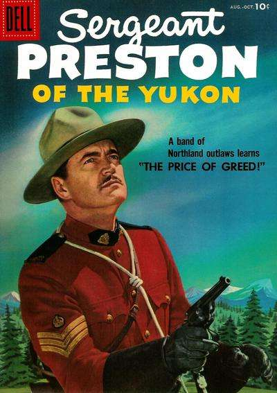 Sergeant Preston of the Yukon #20 Comic Books - Covers, Scans, Photos  in Sergeant Preston of the Yukon Comic Books - Covers, Scans, Gallery