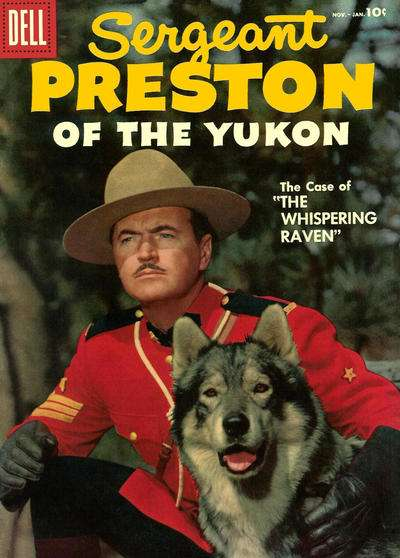 Sergeant Preston of the Yukon #21 comic books - cover scans photos Sergeant Preston of the Yukon #21 comic books - covers, picture gallery
