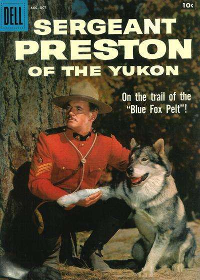 Sergeant Preston of the Yukon #28 comic books - cover scans photos Sergeant Preston of the Yukon #28 comic books - covers, picture gallery