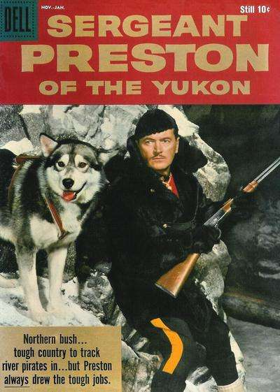 Sergeant Preston of the Yukon #29 Comic Books - Covers, Scans, Photos  in Sergeant Preston of the Yukon Comic Books - Covers, Scans, Gallery