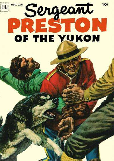Sergeant Preston of the Yukon #5 Comic Books - Covers, Scans, Photos  in Sergeant Preston of the Yukon Comic Books - Covers, Scans, Gallery