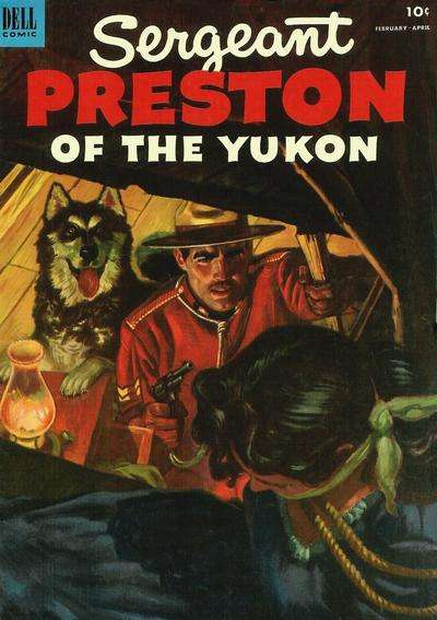 Sergeant Preston of the Yukon #6 Comic Books - Covers, Scans, Photos  in Sergeant Preston of the Yukon Comic Books - Covers, Scans, Gallery