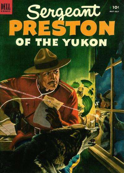 Sergeant Preston of the Yukon #7 comic books - cover scans photos Sergeant Preston of the Yukon #7 comic books - covers, picture gallery