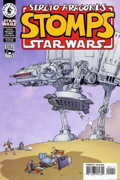 Sergio Aragones Stomps Star Wars Comic Books. Sergio Aragones Stomps Star Wars Comics.