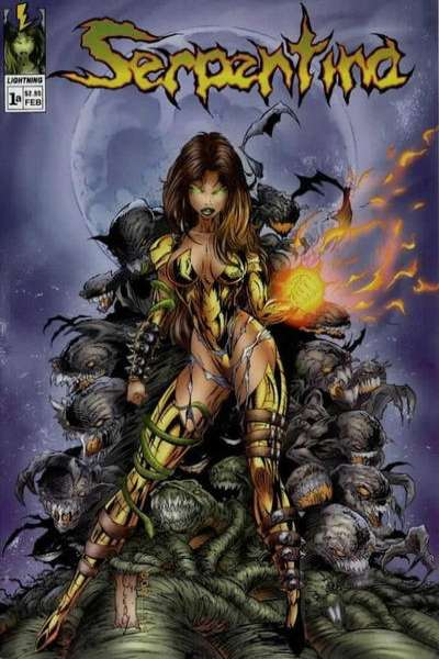 Serpentina comic books