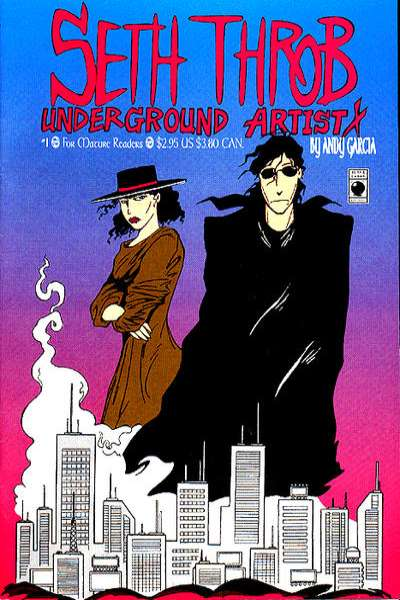 Seth Throb Underground Artist comic books