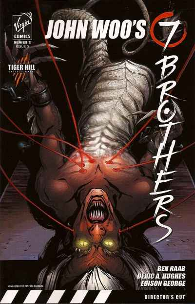 Seven Brothers #3 comic books - cover scans photos Seven Brothers #3 comic books - covers, picture gallery