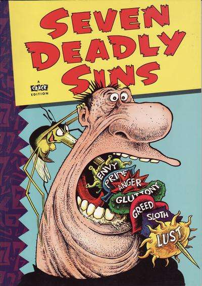 Seven Deadly Sins #1 comic books - cover scans photos Seven Deadly Sins #1 comic books - covers, picture gallery