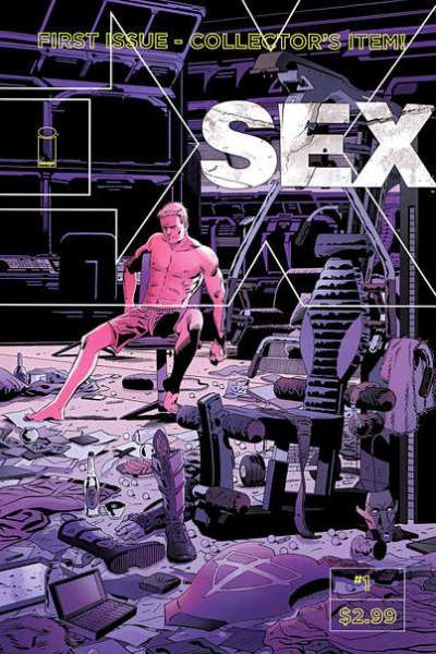 Sex comic books