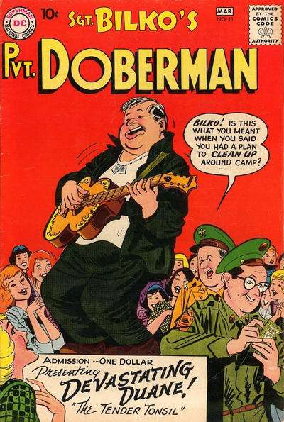 Sgt. Bilko's Pvt. Doberman #11 Comic Books - Covers, Scans, Photos  in Sgt. Bilko's Pvt. Doberman Comic Books - Covers, Scans, Gallery