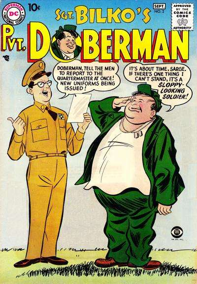 Sgt. Bilko's Pvt. Doberman #2 comic books for sale