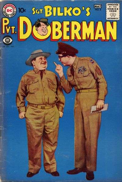 Sgt. Bilko's Pvt. Doberman #6 Comic Books - Covers, Scans, Photos  in Sgt. Bilko's Pvt. Doberman Comic Books - Covers, Scans, Gallery