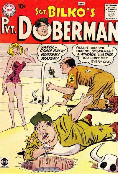 Sgt. Bilko's Pvt. Doberman #8 Comic Books - Covers, Scans, Photos  in Sgt. Bilko's Pvt. Doberman Comic Books - Covers, Scans, Gallery