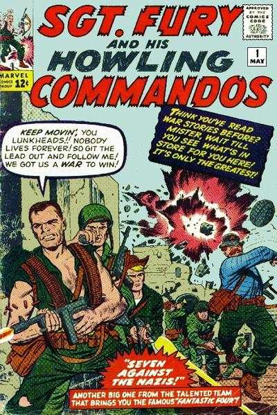 Sgt. Fury #1 Comic Books - Covers, Scans, Photos  in Sgt. Fury Comic Books - Covers, Scans, Gallery