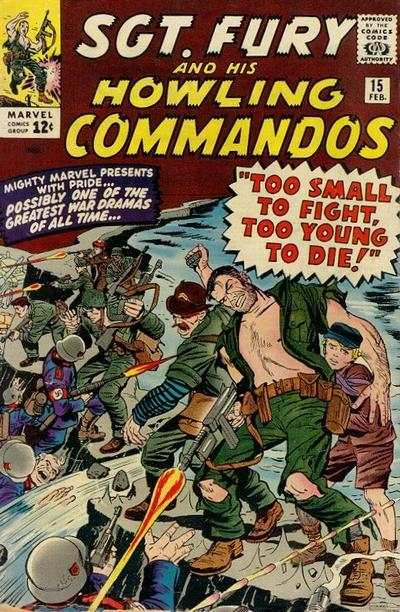 Sgt. Fury #15 comic books for sale