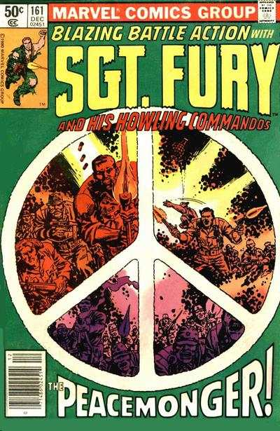 Sgt. Fury #161 Comic Books - Covers, Scans, Photos  in Sgt. Fury Comic Books - Covers, Scans, Gallery