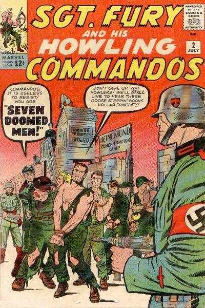 Sgt. Fury #2 Comic Books - Covers, Scans, Photos  in Sgt. Fury Comic Books - Covers, Scans, Gallery
