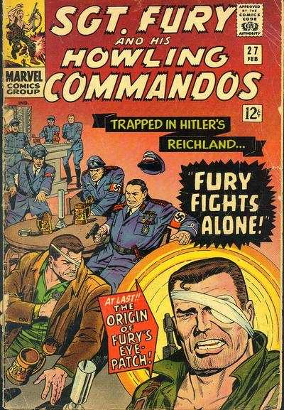 Sgt. Fury #27 Comic Books - Covers, Scans, Photos  in Sgt. Fury Comic Books - Covers, Scans, Gallery