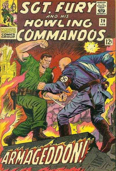 Sgt. Fury #29 Comic Books - Covers, Scans, Photos  in Sgt. Fury Comic Books - Covers, Scans, Gallery