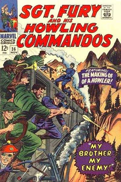 Sgt. Fury #36 Comic Books - Covers, Scans, Photos  in Sgt. Fury Comic Books - Covers, Scans, Gallery