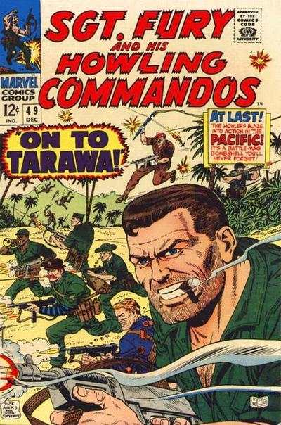 Sgt. Fury #49 Comic Books - Covers, Scans, Photos  in Sgt. Fury Comic Books - Covers, Scans, Gallery