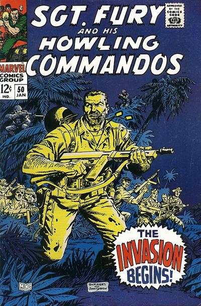 Sgt. Fury #50 Comic Books - Covers, Scans, Photos  in Sgt. Fury Comic Books - Covers, Scans, Gallery