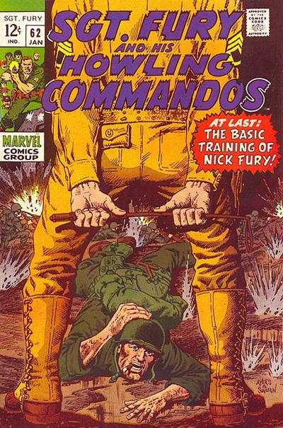 Sgt. Fury #62 comic books - cover scans photos Sgt. Fury #62 comic books - covers, picture gallery