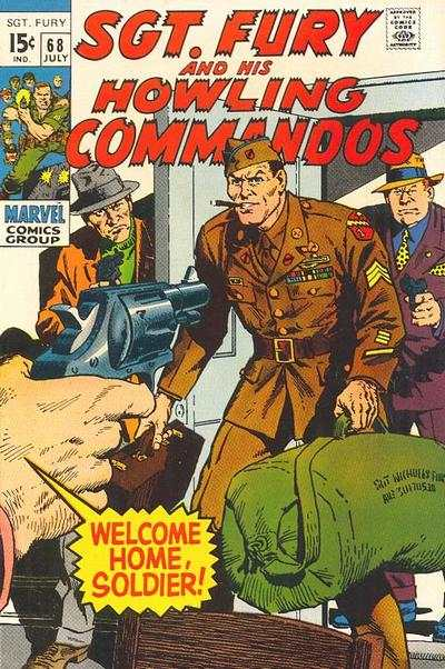 Sgt. Fury #68 comic books for sale