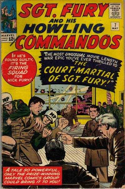 Sgt. Fury #7 Comic Books - Covers, Scans, Photos  in Sgt. Fury Comic Books - Covers, Scans, Gallery