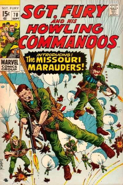 Sgt. Fury #70 Comic Books - Covers, Scans, Photos  in Sgt. Fury Comic Books - Covers, Scans, Gallery