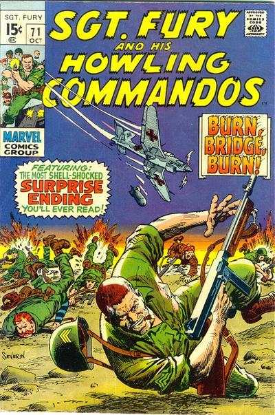 Sgt. Fury #71 Comic Books - Covers, Scans, Photos  in Sgt. Fury Comic Books - Covers, Scans, Gallery