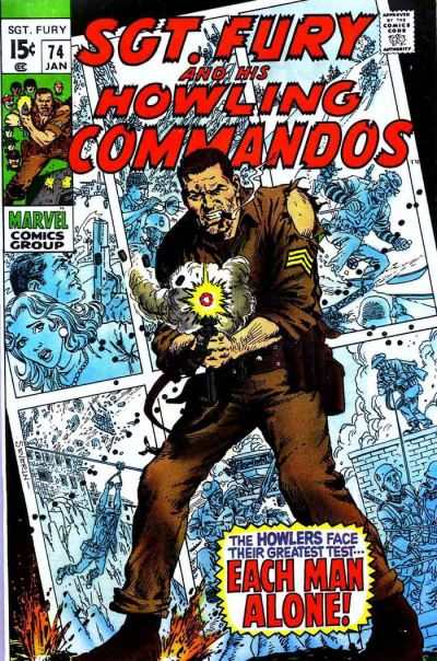 Sgt. Fury #74 Comic Books - Covers, Scans, Photos  in Sgt. Fury Comic Books - Covers, Scans, Gallery