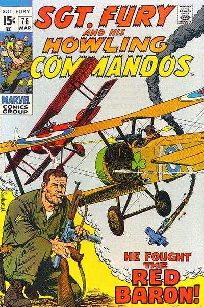 Sgt. Fury #76 comic books for sale