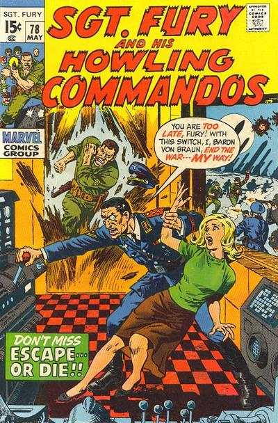 Sgt. Fury #78 Comic Books - Covers, Scans, Photos  in Sgt. Fury Comic Books - Covers, Scans, Gallery