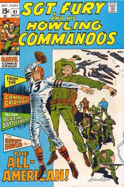 Sgt. Fury #81 comic books for sale