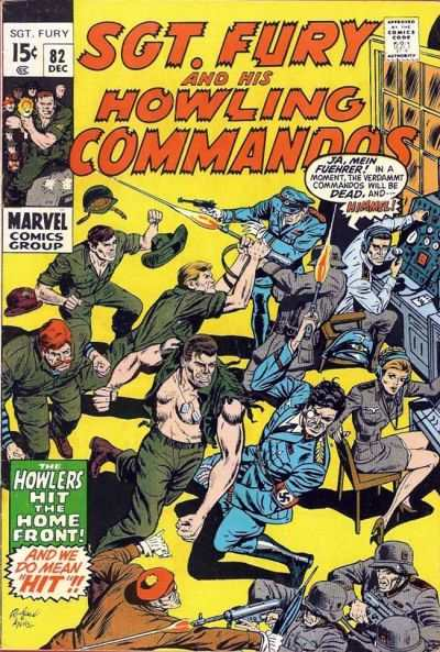 Sgt. Fury #82 Comic Books - Covers, Scans, Photos  in Sgt. Fury Comic Books - Covers, Scans, Gallery