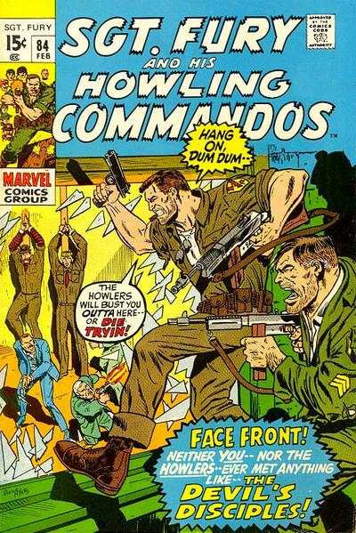 Sgt. Fury #84 Comic Books - Covers, Scans, Photos  in Sgt. Fury Comic Books - Covers, Scans, Gallery