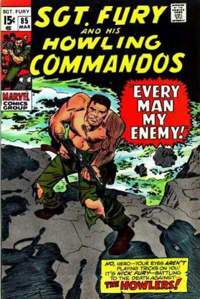 Sgt. Fury #85 Comic Books - Covers, Scans, Photos  in Sgt. Fury Comic Books - Covers, Scans, Gallery