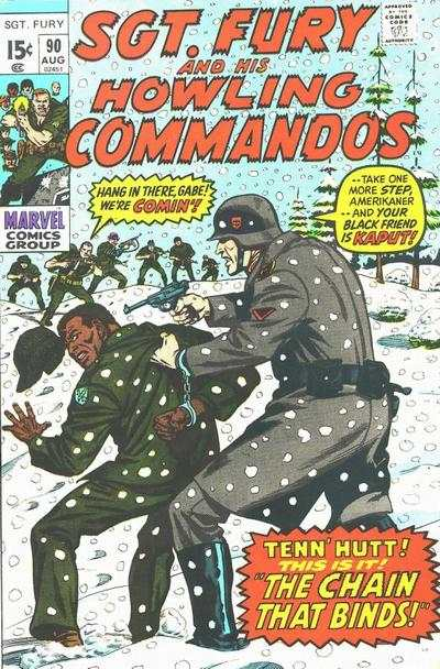 Sgt. Fury #90 Comic Books - Covers, Scans, Photos  in Sgt. Fury Comic Books - Covers, Scans, Gallery