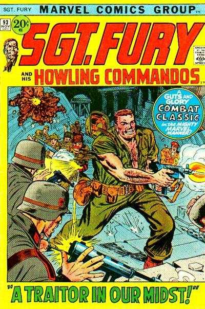 Sgt. Fury #93 Comic Books - Covers, Scans, Photos  in Sgt. Fury Comic Books - Covers, Scans, Gallery